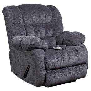 Flash Furniture Massaging Columbia Indigo Microfiber Rocker Recliner with Heat Control AM-H9460-5861-GG | 889142005315| $474.80. Recliners - . Buy today at http://www.contemporaryfurniturewarehouse.com