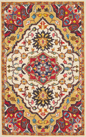 Nuloom Hand Tufted Arline Red Rug