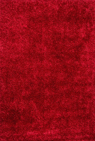 Loloi Carrera Shag Red Area Rug