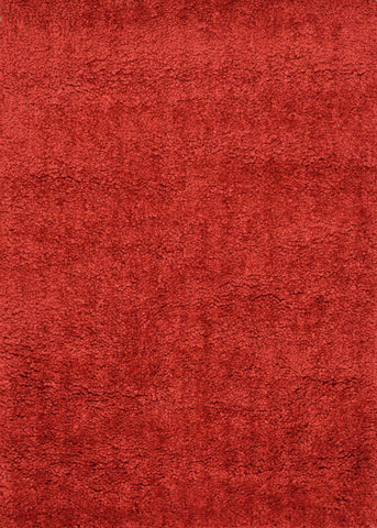 Loloi Hera Shag Red Area Rug
