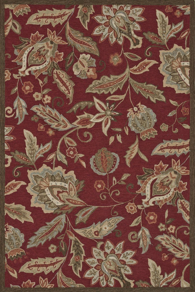 Loloi Summerton Red Area Rug
