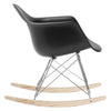Rocker Lounge Chair In Black Rocking