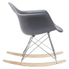 Rocking Chairs - EdgeMod EM-121-GRY Rocker Lounge Chair in Grey | 641061720379 | Only $96.30. Buy today at http://www.contemporaryfurniturewarehouse.com