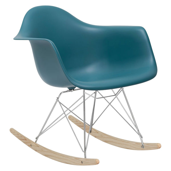 Rocker Lounge Chair In Teal Rocking