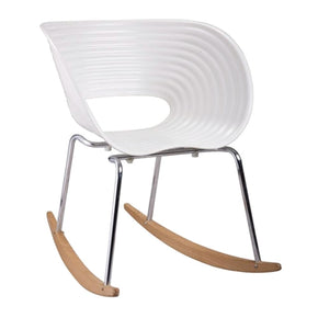 Vac Arm Rocker Chair White Rocking