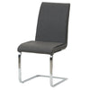 Gladys PU Leather Chair (Set of 2) Highland Gray