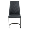 Kyla PU Leather Chair (Set of 2) Element Black