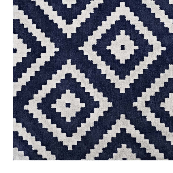 Rugs - Modway R-1004A-58 Alika Abstract Diamond Trellis 5x8 Area Rug | 889654103073 | Only $133.05. Buy today at http://www.contemporaryfurniturewarehouse.com