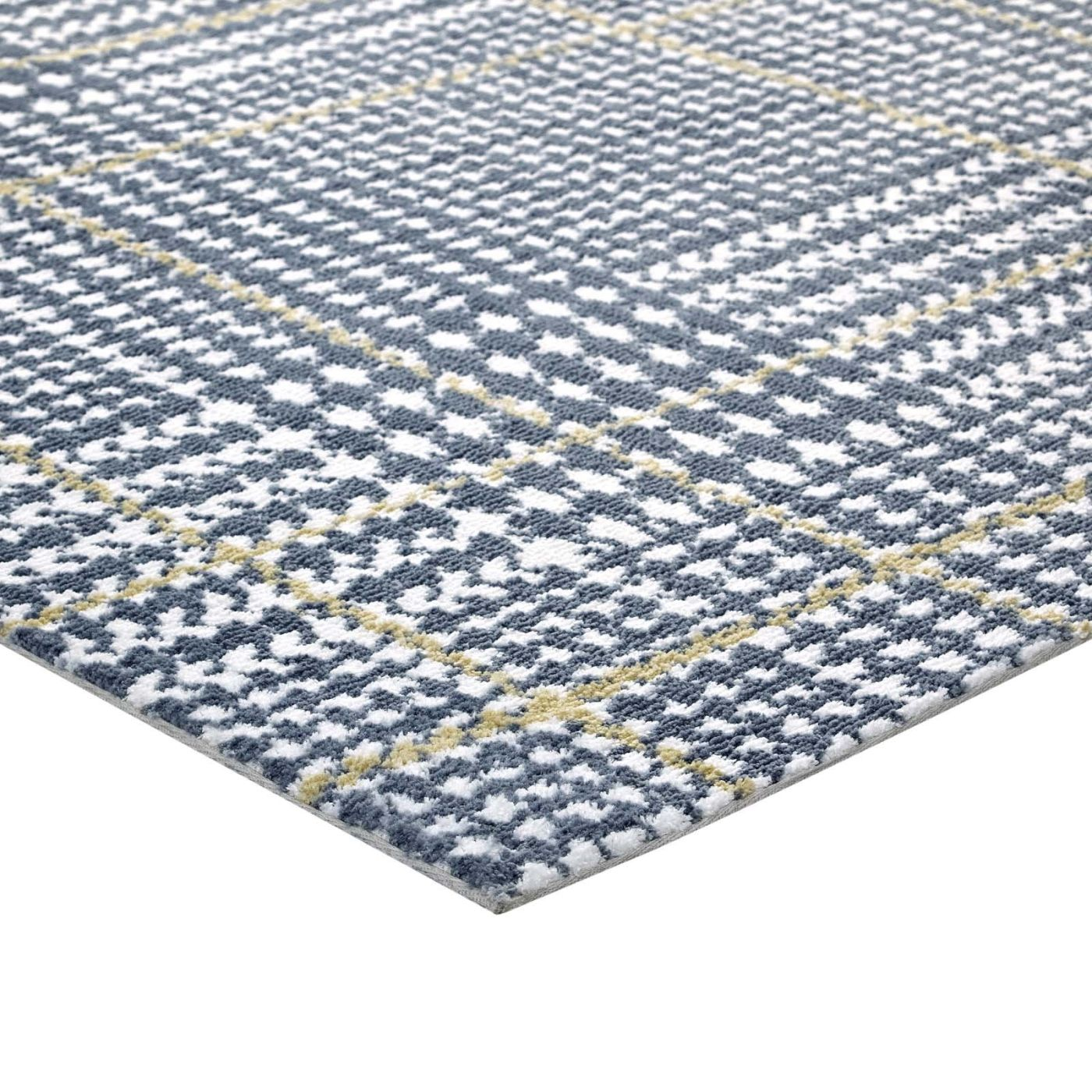 Modway Rugs On Sale. R-1024A-58 Kaja Abstract Plaid 5x8