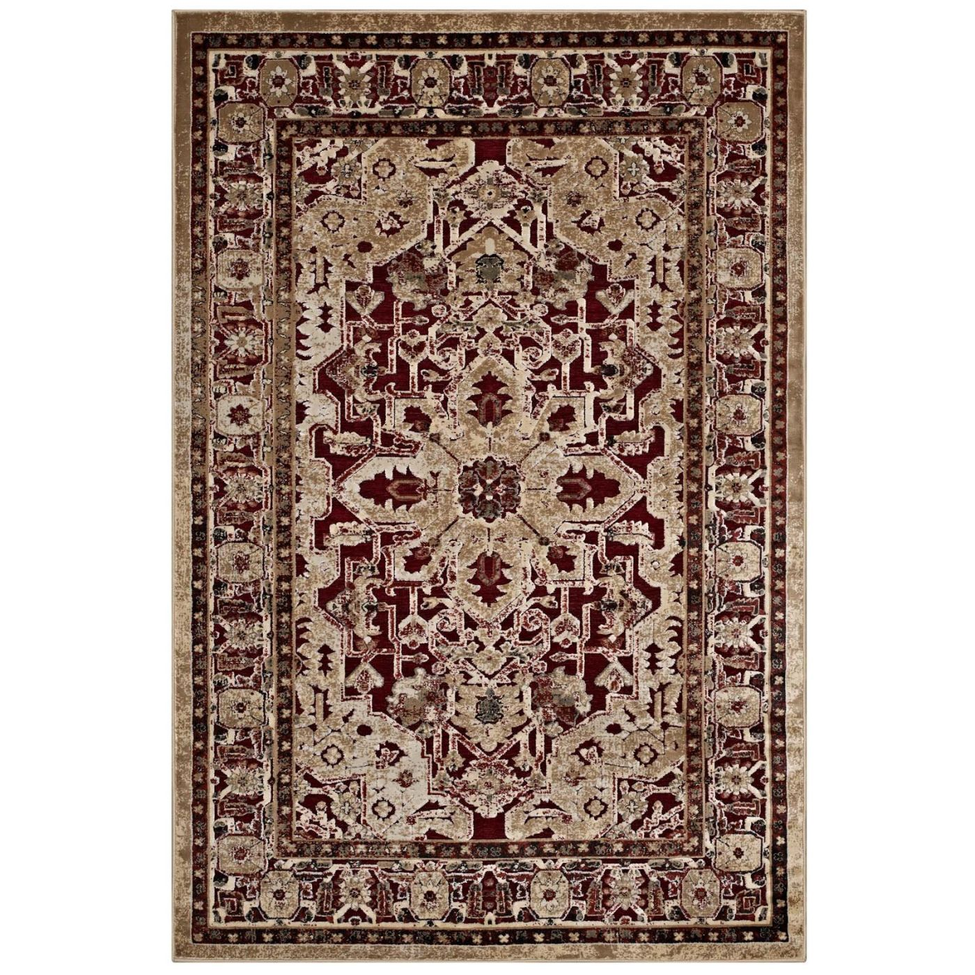 Modway Rugs On Sale. R-1096A-810 Grania Ornate Vintage