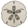Sand Dollar Shaped Hr 3'rd Rug