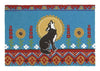 Coyote Blue Hook Rug 27X40