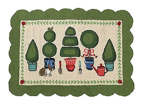 Secret Garden Topiary Hr 27X40 Rug