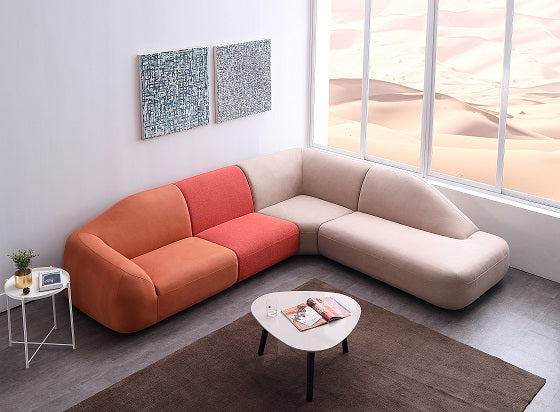 Vig Furniture VG2TS-D001 Divani Casa Sahara Modular Fabric Sectional Sofa  sale at Contemporary Furniture Warehouse. Today only.