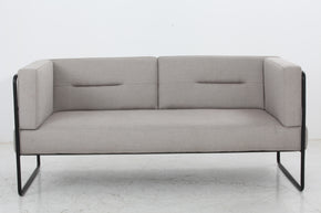Vig Furniture VGDWS1061-GRY Modrest Norman Modern Grey Fabric Loveseat Sofa