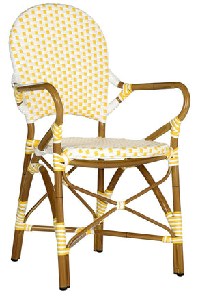 - Safavieh FOX5209D-SET2 Hooper Indoor-Outdoor Stacking Armchair (Set Of 2) Yellow & White | 889048057937 | Only $254.80. Buy today at http://www.contemporaryfurniturewarehouse.com