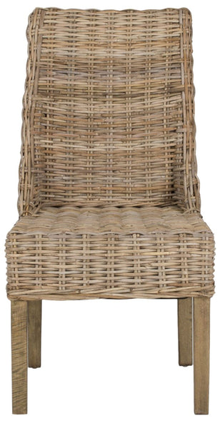 Suncoast Rattan Arm Chair (Set Of 2) Natural Unfinished Outdoor Dining