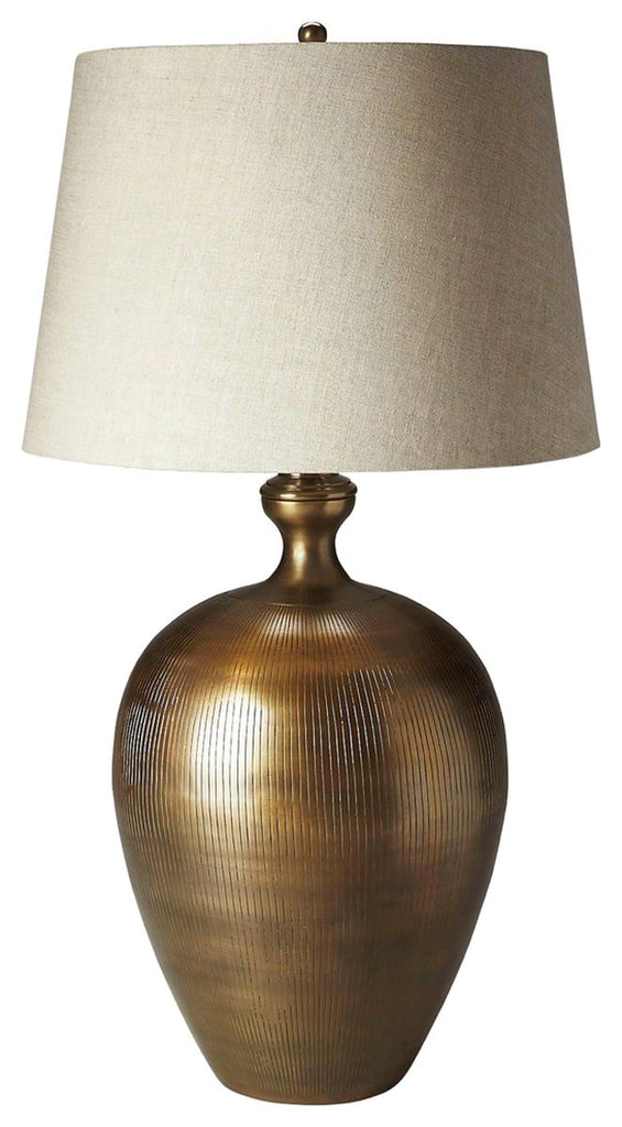 Transitional Table Lamp Gold