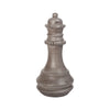 Zwischenzug Bishop Chess Sculpture Waxed Concrete