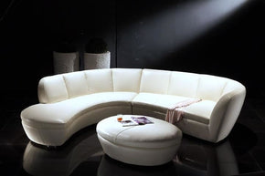 contemporary sectional couch. Crescenta Full Top Grain Leather Contemporary Sectional Cream Couch