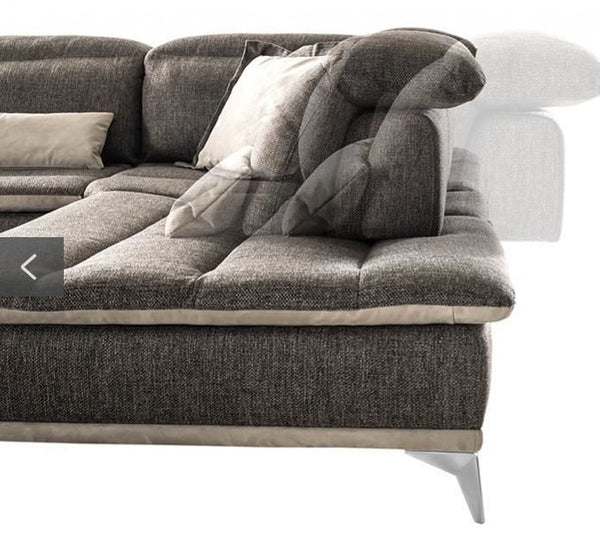Vig Furniture VGFTVOLARE-GRY David Ferrari Volare Italian Modern Grey  Fabric Sectional Sofa sale at Contemporary Furniture Warehouse. Today only.