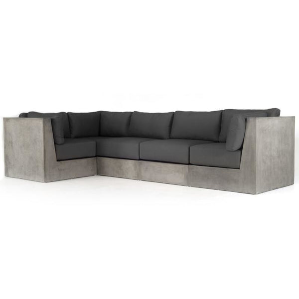 Vig Furniture VGGR980170 Modrest Indigo Contemporary Grey Concrete  Sectional Sofa sale at Contemporary Furniture Warehouse. Today only.
