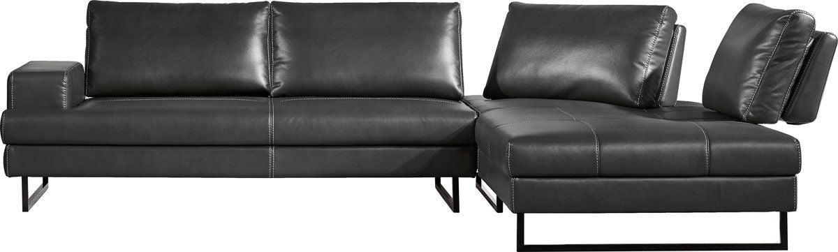 Prime Vig Furniture Vgmb 1760 Gry Divani Casa Bowery Modern Grey Leatherette Sectional Sofa Sale At Contemporary Furniture Warehouse Today Only Gmtry Best Dining Table And Chair Ideas Images Gmtryco