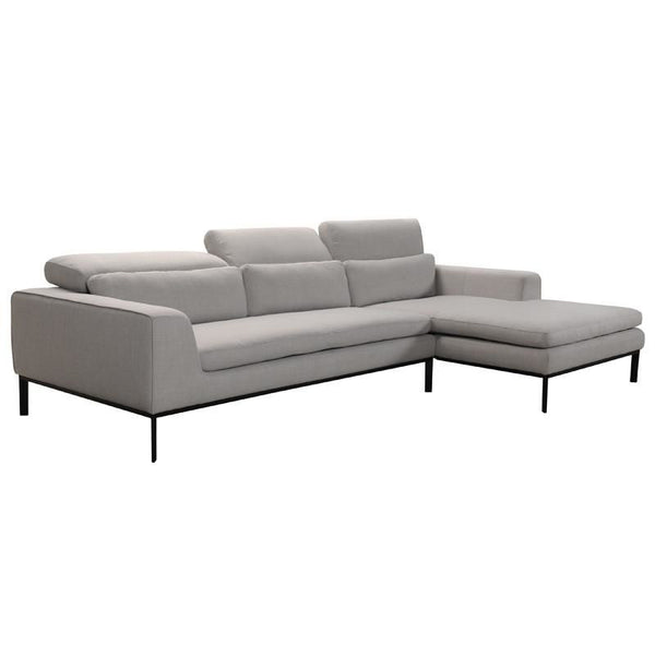 Vig Furniture VGVITB31240-TPE Divani Casa Clayton Modern Fabric Sectional  Sofa sale at Contemporary Furniture Warehouse. Today only.