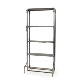 Single Industrial Modern Warehouse Shelving Shelf