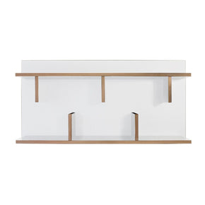 Shelves - TemaHome 9000.318078 Bern 90 Wall Shelf Pure White / Plywood | 5603449318078 | Only $196.00. Buy today at http://www.contemporaryfurniturewarehouse.com