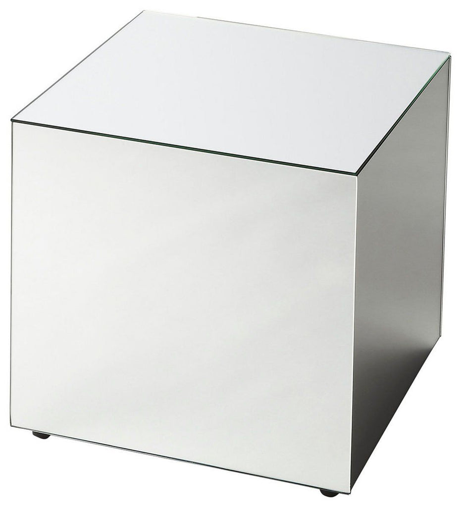 Side Tables - Butler Furniture BUT-3189146 Emerson Modern Square Bunching Cube Clear | 797379020028 | Only $229.00. Buy today at http://www.contemporaryfurniturewarehouse.com