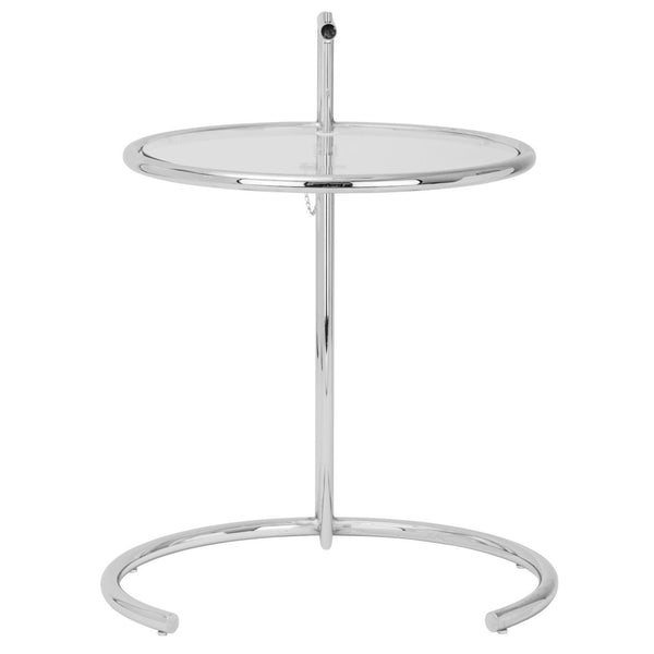 Eileen Gray Side Table In Silver (Set Of 2)