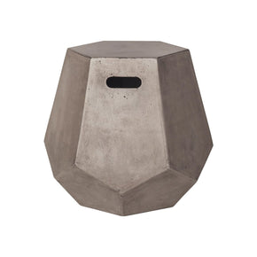 Delana Side Table Waxed Concrete