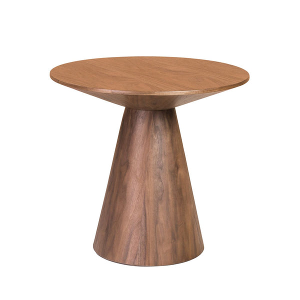 "Side Tables - Euro Style EURO-38886WAL-KIT Wesley 24"" Side Table in Walnut Veneer 