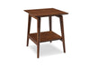 Antares End Table Exotic Carmalized