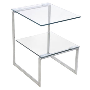 6G End Table Clear Side