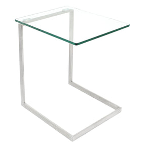 Zenn Glass End Table Side