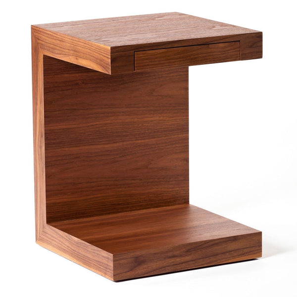 Zio Side Table Walnut