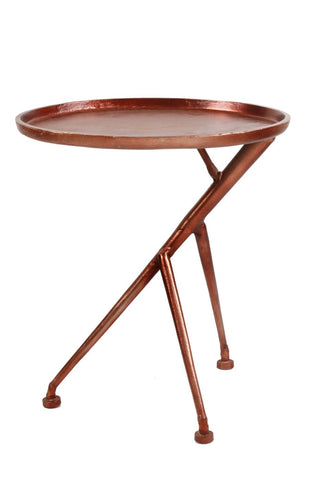 Conductor Side Table Bronze Aluminum