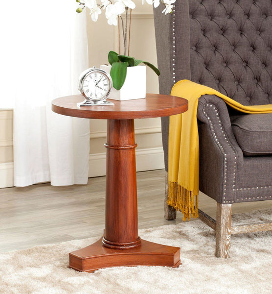 Side Tables - Safavieh AMH1522A Tanner End Table Brown | 683726369059 | Only $129.80. Buy today at http://www.contemporaryfurniturewarehouse.com