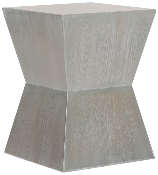 Side Tables - Safavieh AMH6618A Lotem Accent Table French Grey | 683726233060 | Only $144.80. Buy today at http://www.contemporaryfurniturewarehouse.com