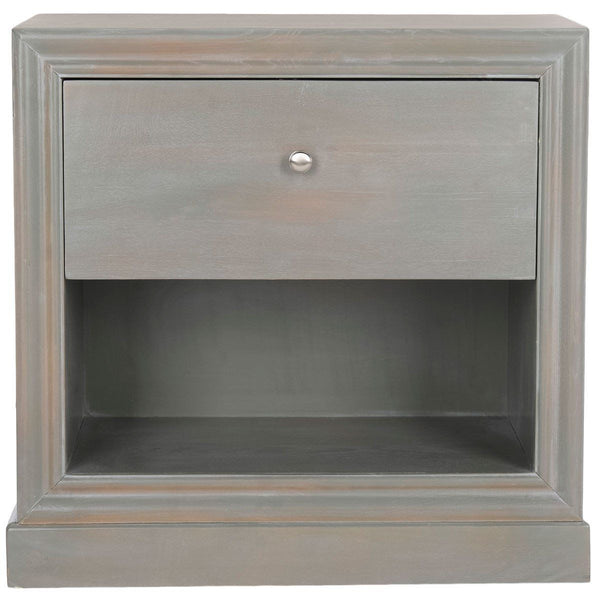 Cain End Table French Grey Side
