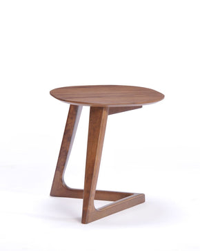 Modrest Jett Modern Walnut End Table Side