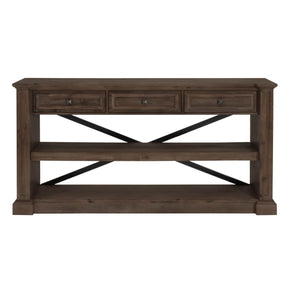 Hudson Dining Console Rustic Java Sideboard
