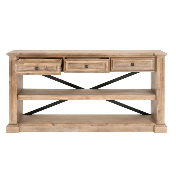 Hudson Dining Console Stone Wash Sideboard