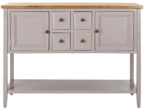 Charlotte Storage Sideboard Quartz Grey/oak