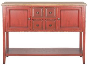 Charlotte Storage Sideboard Egyptian Red/oak