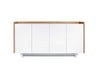 Skin Sideboard Oak / Pure White