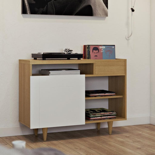Cruz Sideboard Oak / Pure White