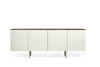 Edge Sideboard Pure White / Walnut